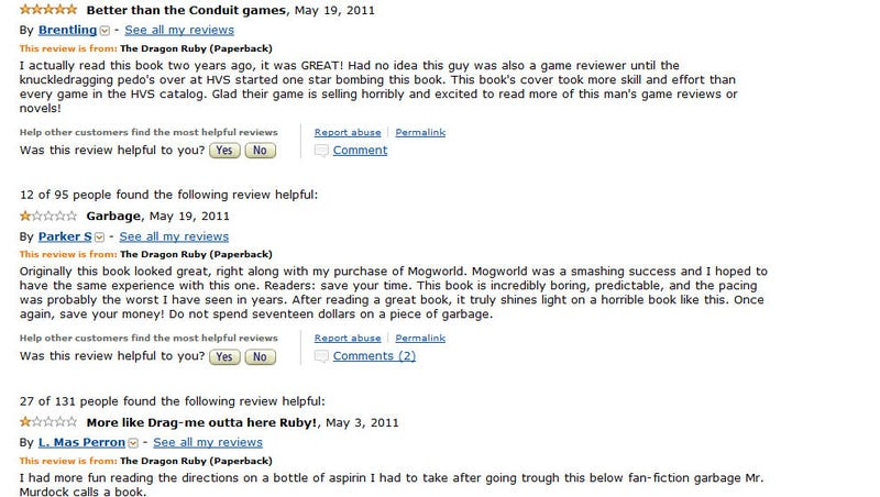 Author of Negative Conduit 2 Review Becomes Target of Studio's Ire, His Novel Attacked on Amazon