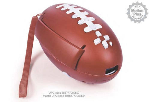 And Here's A Wii Football Accessory