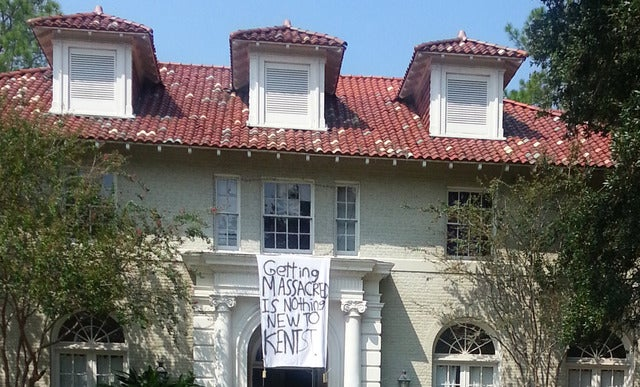 LSU Frat Makes Fun Of Kent State By Referencing 1970 Campus Shootings