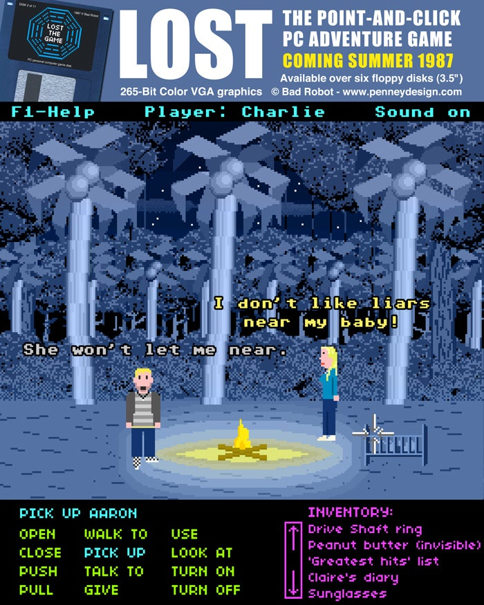 If Lucasarts Had Made A Lost Game...In 1987...