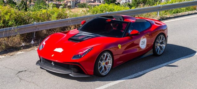 The $4.2 Million One-Off Ferrari F12 TRS Is Live In The Wild