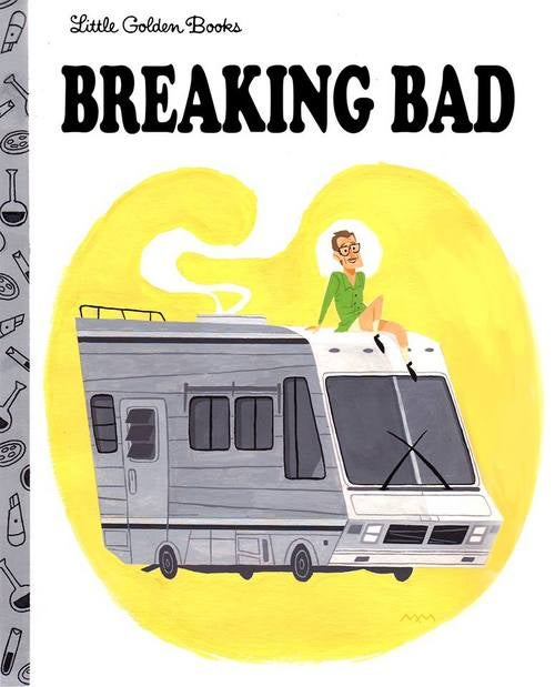 Breaking Bad would make an adorable, if demented, Little Golden Book