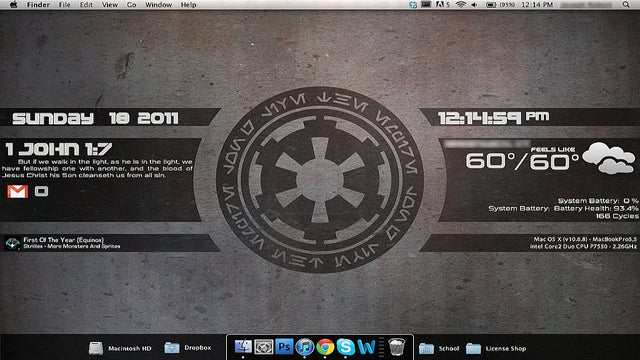 The Imperial Desktop