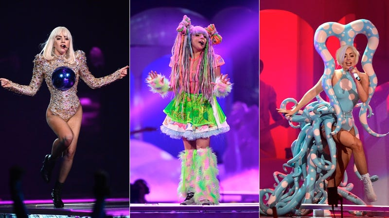 Lady Gaga's ARTPOP Tour Costumes Do Not Disappoint