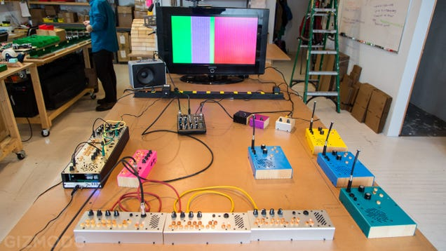 Inside the Small Brooklyn Studio Making the Wackiest Synths I've Seen