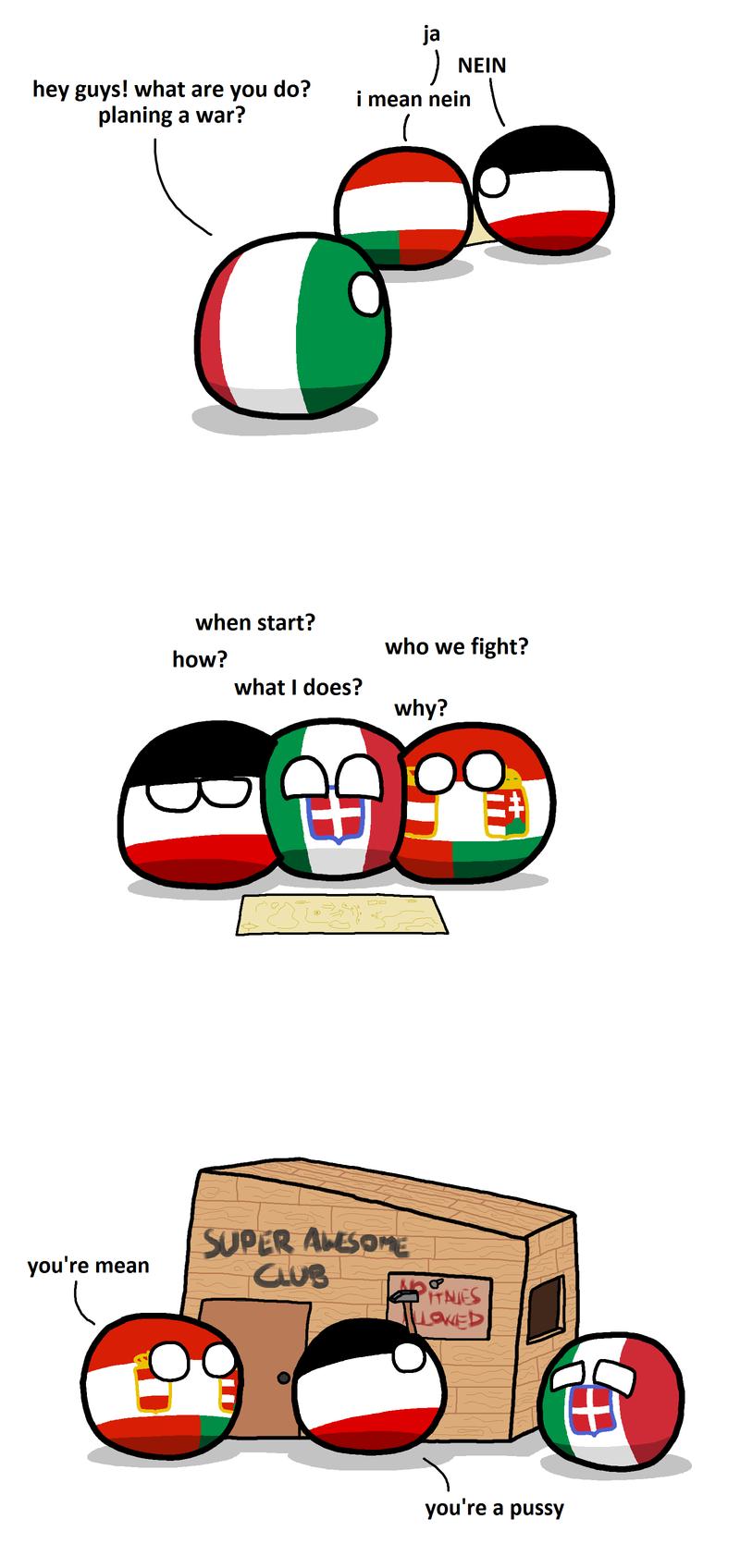Daily Polandball: The Club