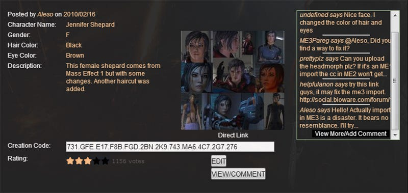 How Mass Effect Mods Resurrected My Shepard