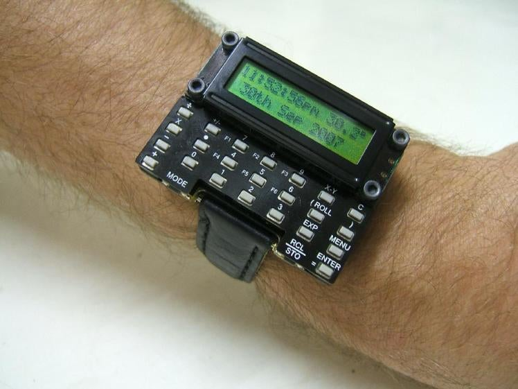 DIY Scientific Calculator Watch: Wrist Candy For Mega Nerds