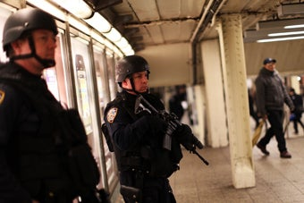 Police Let Would-Be Subway Bomber Through Checkpoint