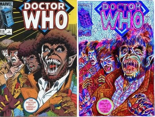 Fan Artists Reimagine Classic Comics Covers