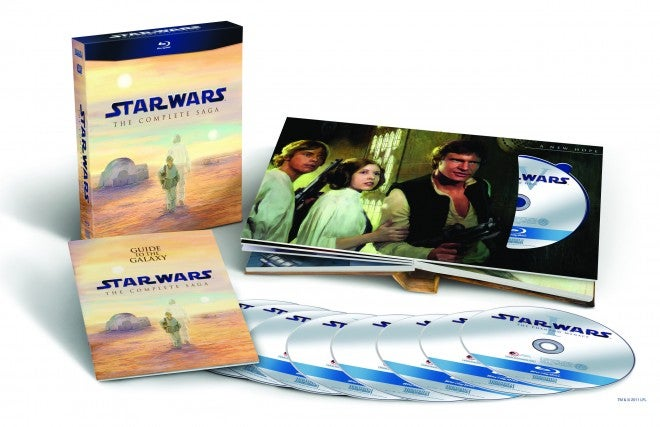 The Star Wars Blu-ray set gets 3.5 out of 5