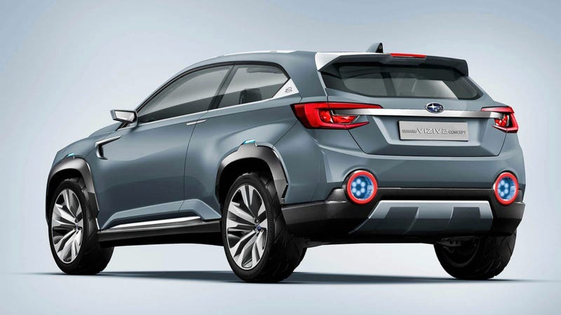 The Subaru Viziv 2 Concept Is A Sharp-Suited Turbo Crossover