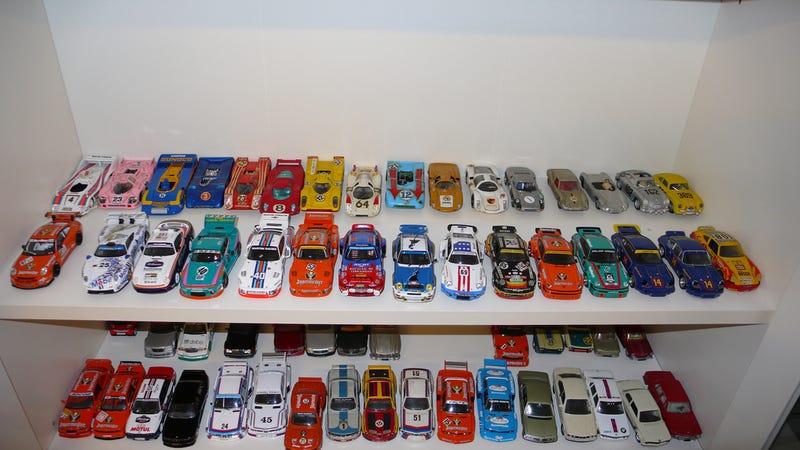 Tiny Porsches...