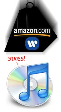 Amazon Now Selling MP3s from Warner; 2.9 Million DRM-Free Tracks Now Available