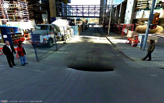 Google Street View Glitches Show A Haunting Digital World