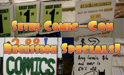 Seven Best $10 Comic Book Deals At Comic Con