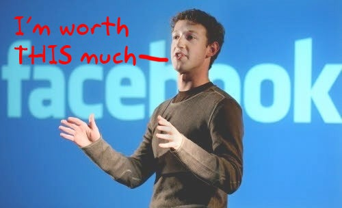 Mark Zuckerberg More Minted Than Steve Jobs