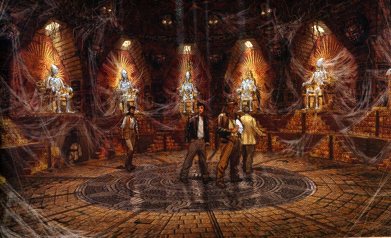 If Only Indiana Jones 4 Had Been As Thrilling As Its Concept Art