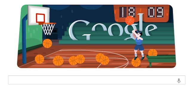 Google's Pop-A-Shot Doodle Is Today's Best Timewaster