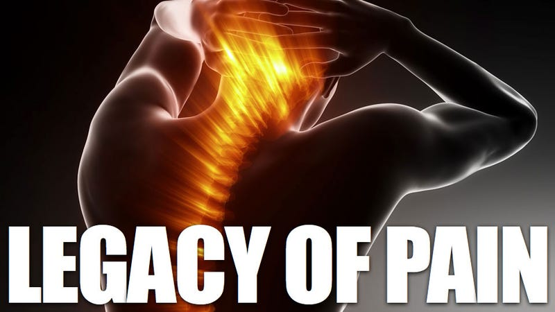 Your spine keeps a record of all your body's pain