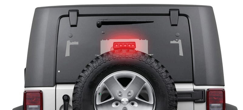 This New Stop Lamp Idea Could Be The Ultimate Tailgater Deterrent