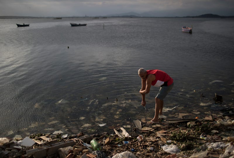 How Olympians Can Survive Swimming in Sewage