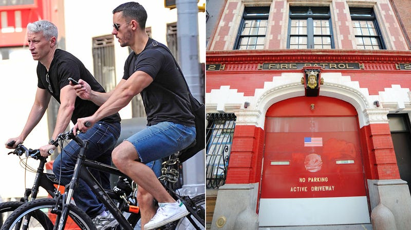 Anderson Cooper Threw a Big Gay Party in His Fire House of Love