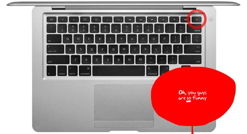 MacBook Air Eject Key's Rumored Alternative Actions