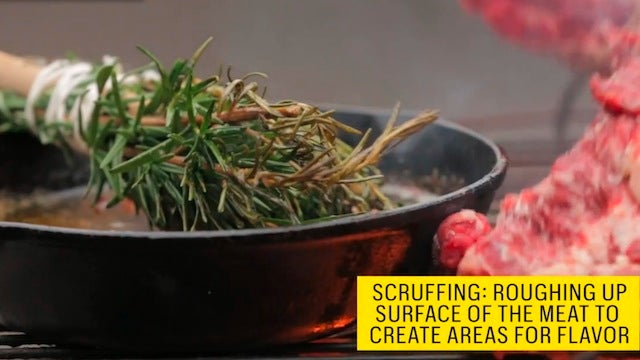 Turn a Bundle of Fresh Herbs into a Basting Brush for the Grill