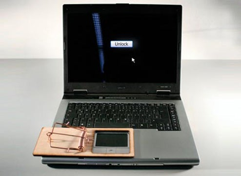 Finger Trap Puts the Smackdown on Unwanted Laptop Usage