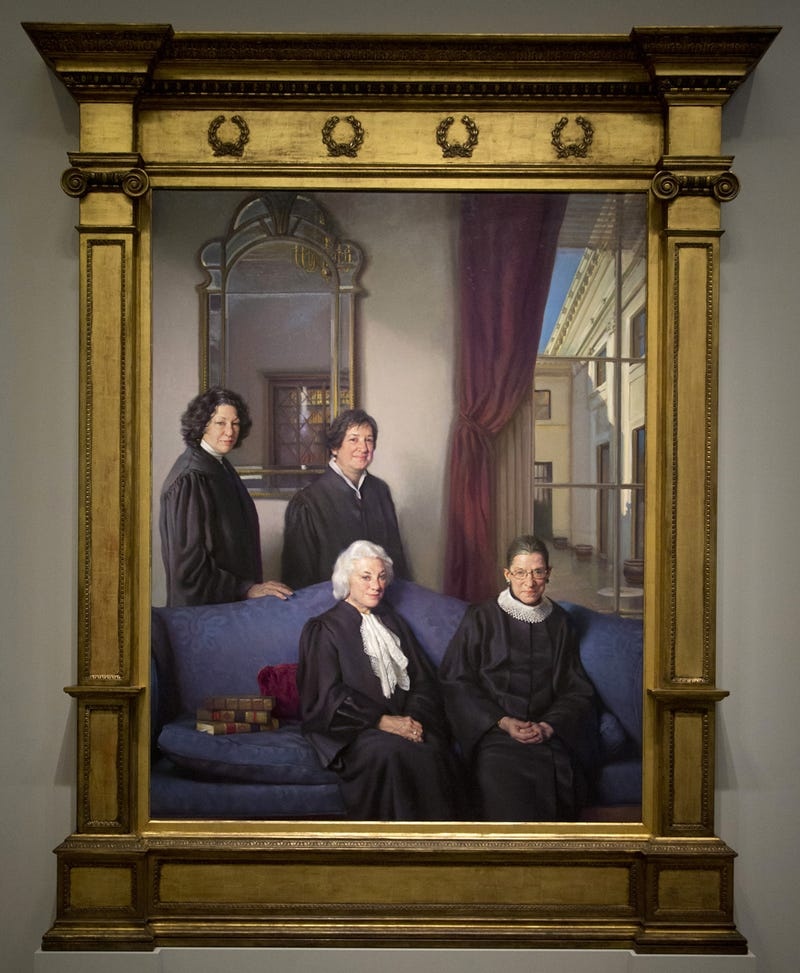 The Four Women of the Supreme Court Look Fierce in Cool New Portrait