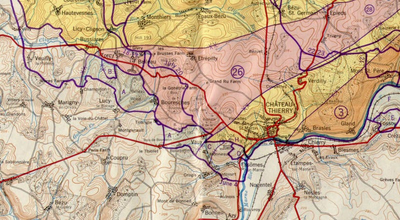 These Stunning Maps Show the Final Months of the First World War