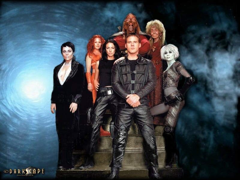 Farscape's Rockne S. O'Bannon making a cult TV show about a cult TV show?
