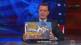 Stephen Colbert's 'Government Shutdown Game' Is Appropriately Unfair