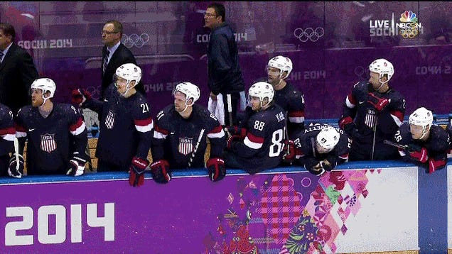 T.J. Oshie Beats Russia In 4-3 Shootout