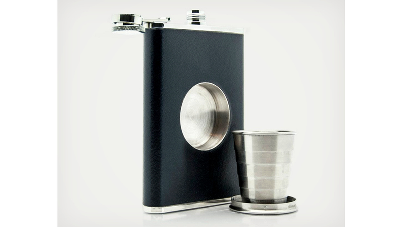 Shot Flask Helps You Share Your Sauce
