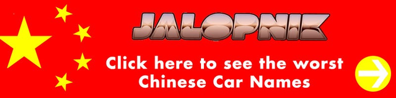 The Ten Worst Chinese Car Names
