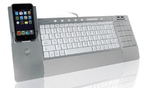 iHome's iConnect Keyboard Combines QWERTY and iPod Docking