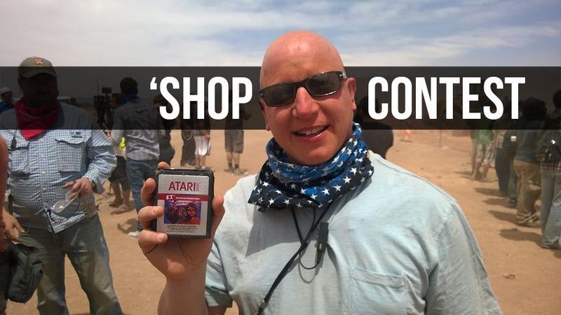 Kotaku 'Shop Contest: Excavated Extra-Terrestrials