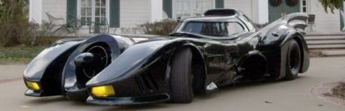 Tim Burton's Batmobile Makes You Feel Like Michael Keaton