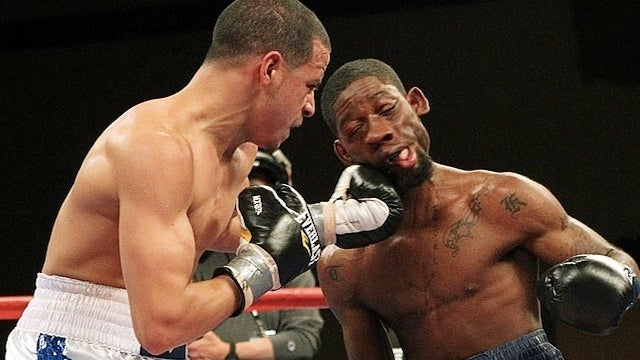 Boxer Teon Kennedy Gets His Face Rearranged