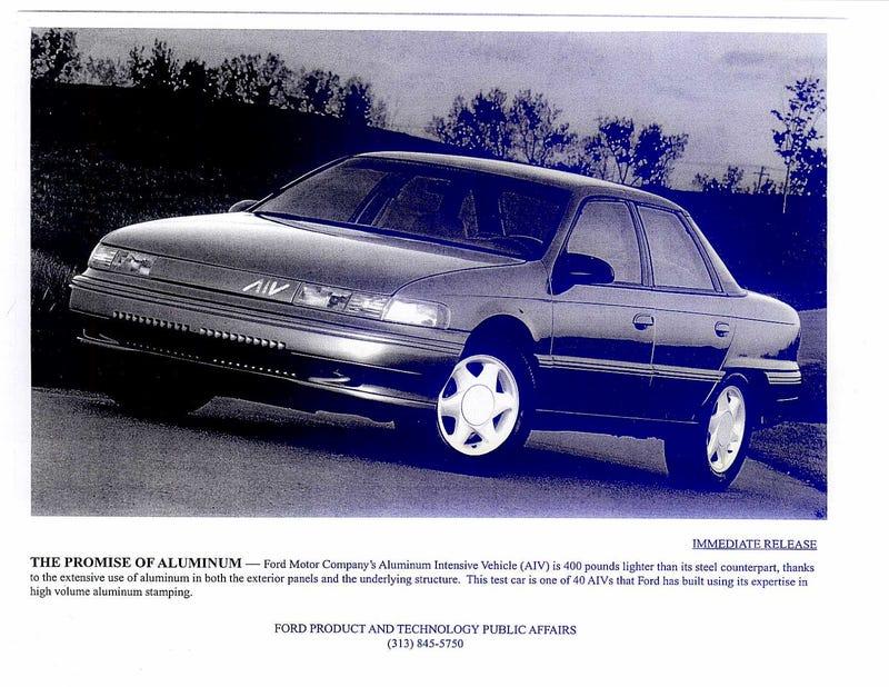 Ford's Super-Rare Taurus SHO-Powered Aluminum Super-Sable