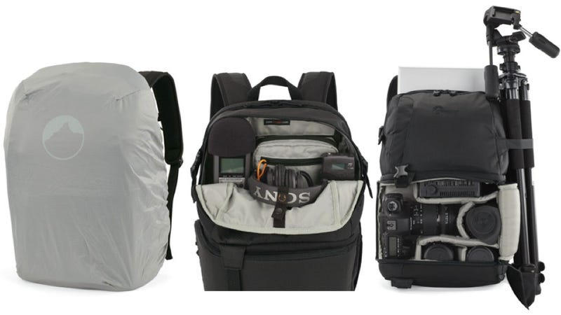 This DSLR Camera Pack Holds Just About Everything You Could Possibly Need for a Shoot