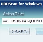HDDScan Performs Hard Drive Diagnostics