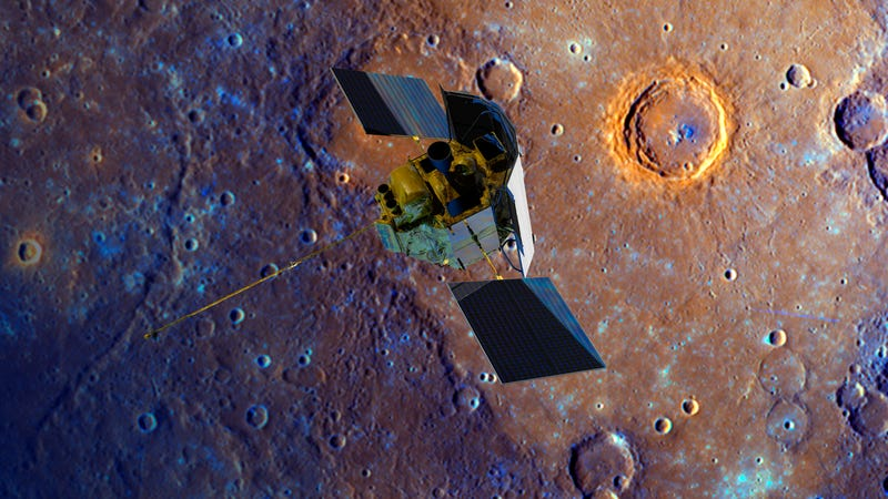 NASA Shot the MESSENGER—Into Orbit, Around the Iron Planet
