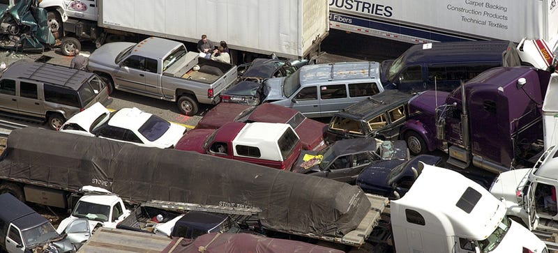 What Should You Do When You Find Yourself In A Pileup?
