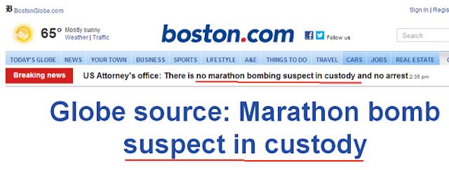 Reports: Suspect Identified In Boston Bombings