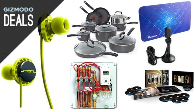 New Pots and Pans, Rock Out While You Work Out, Free Lastpass [Deals]