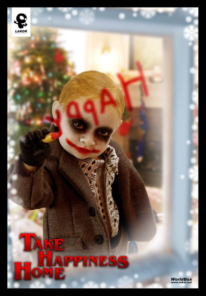 Please let this Joker Jr. Doll inspire a Dark Knight Babies line