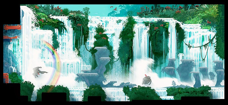 Donkey Kong Country Returns Concept Art